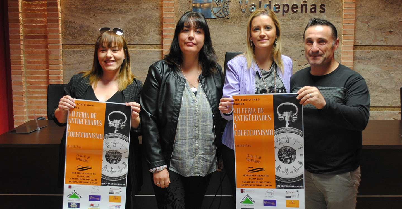 La VII Feria de Antigüedades y Coleccionismo de Valdepeñas se celebrará el 15, 16 y 17 de noviembre