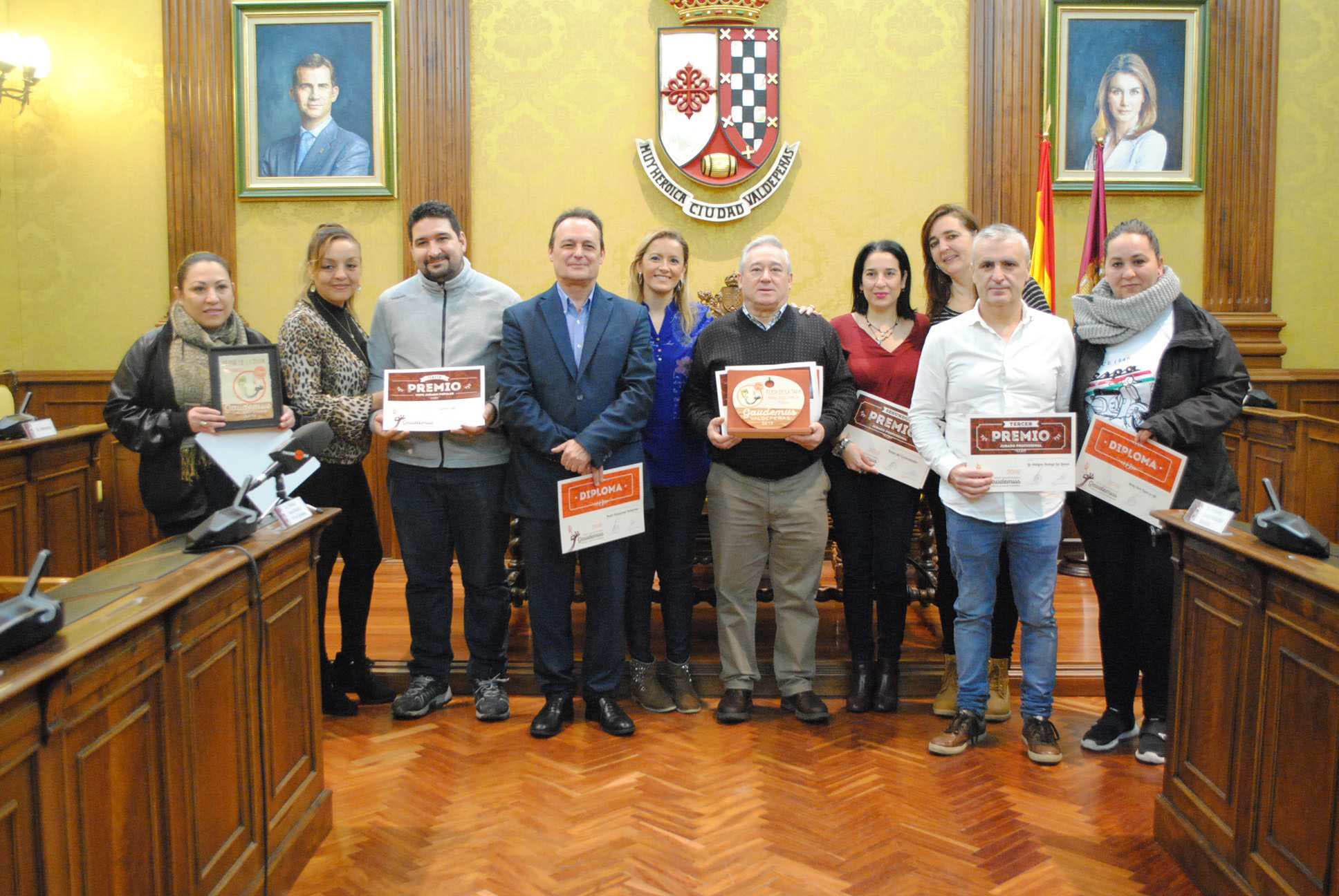 Cynthia Gastrobar y Sucot, ganadores de la 'XIV Feria de la Tapa' de Valdepeñas