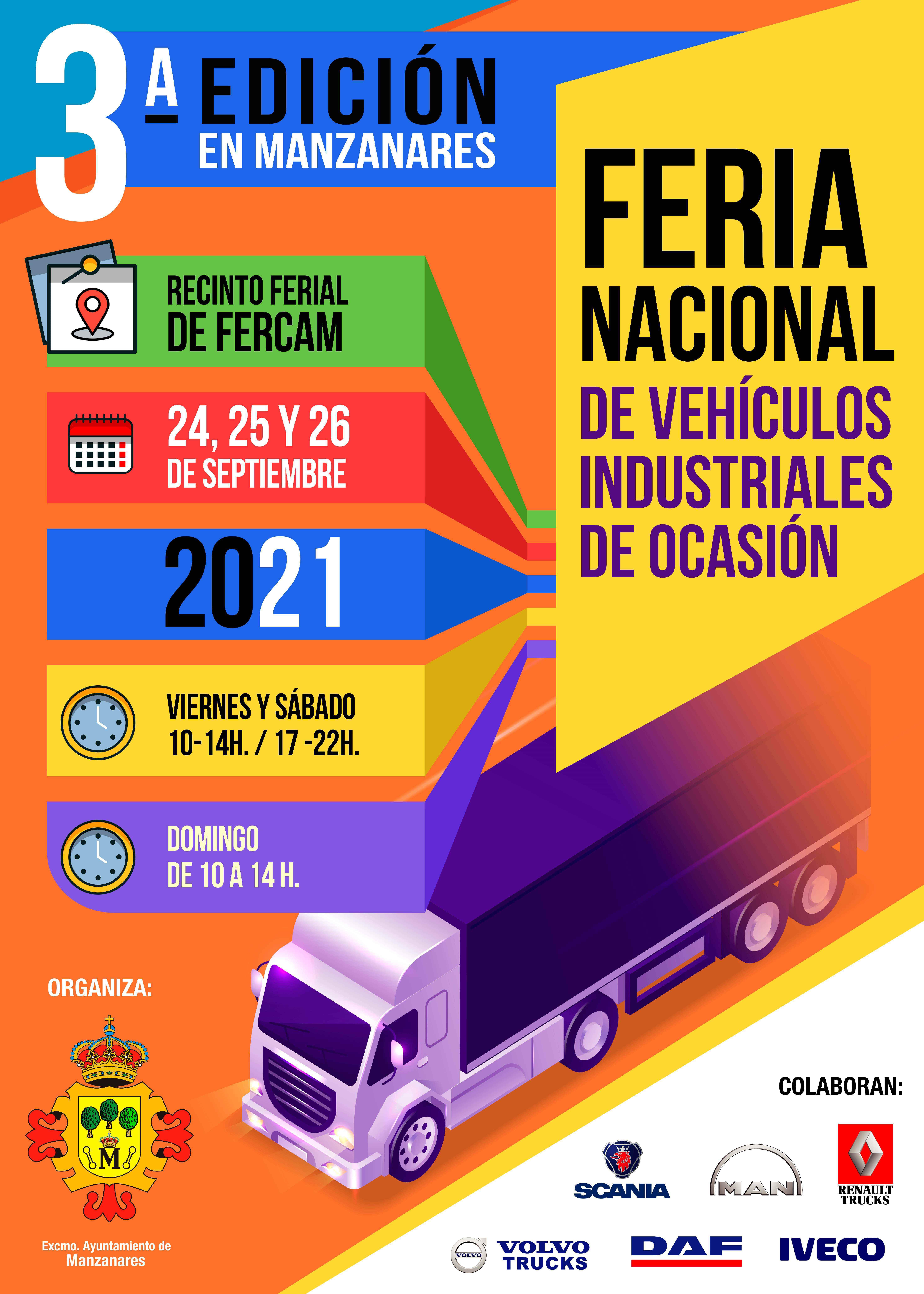 Feria Vehículos Industriales de ocación Manzanares
