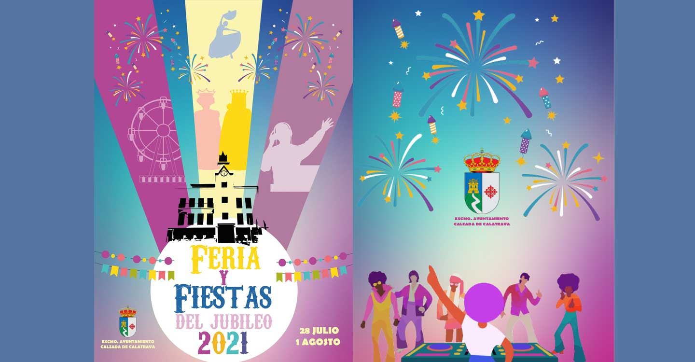 La Alcaldesa de Calzada de Calatrava presenta la programación de actos de las Ferias y Fiestas del Jubileo 2021