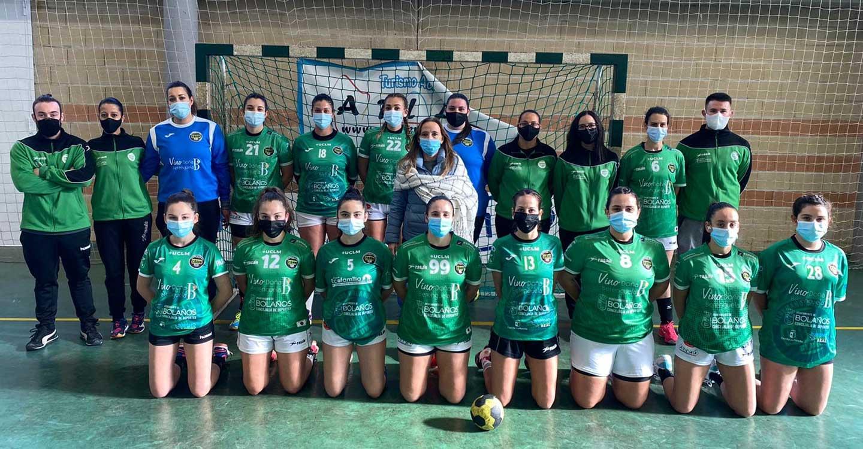 El filial femenino del Club BM Bolaños consigue su primera victoria