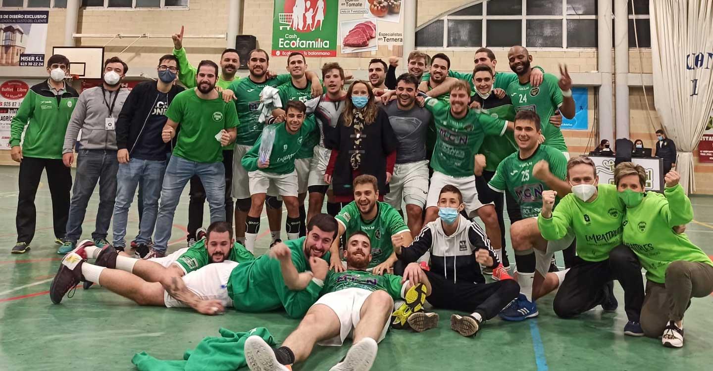 Final de infarto en el Macarena Aguilar con éxito del Club BM Bolaños incluido