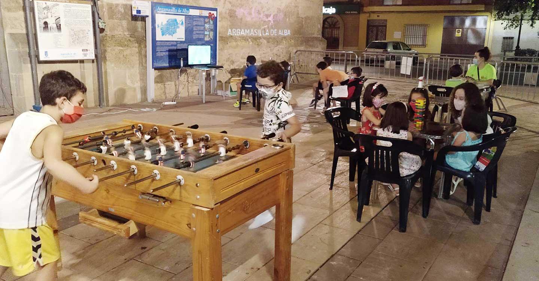 """Finaliza prematuramente la actividad """"Noches de Glorieta"""" con alta participación infantil y juvenil"""