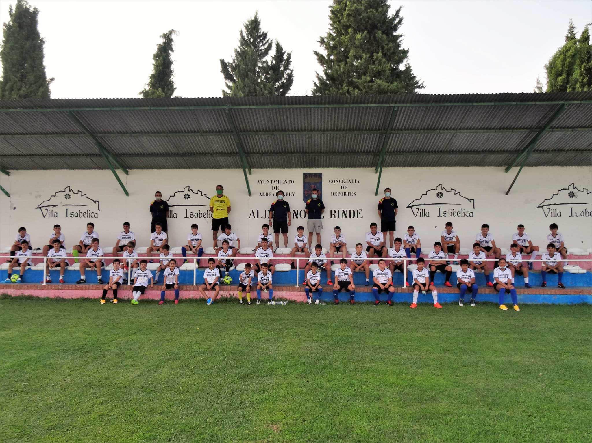 Finalizó el IV campus de fútbol de Aldea del Rey