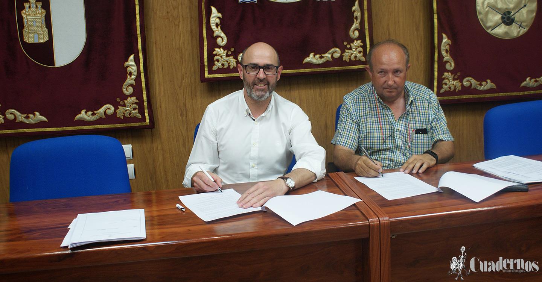 PSOE e IU de Argamasilla de Alba firman un documento con 16 compromisos 'que aportará estabilidad al Gobierno municipal'