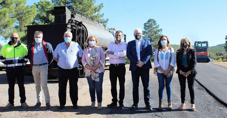 El Gobierno de Castilla-La Mancha invierte más de 726.000 euros para renovar el firme de un tramo de la CM-4103 entre Puebla de Don Rodrigo y Arroba de los Montes