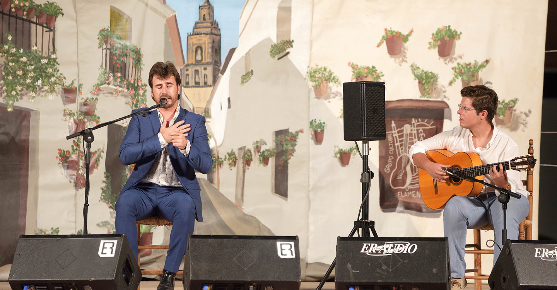 El flamenco regresó a Argamasilla de Alba con Miguel Ortega y Gregorio Moya