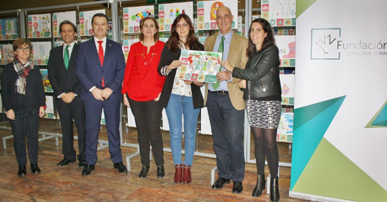 La Fundación Eurocaja Rural falla los ganadores del XII certamen de dibujo 'Tiempo de Navidad'