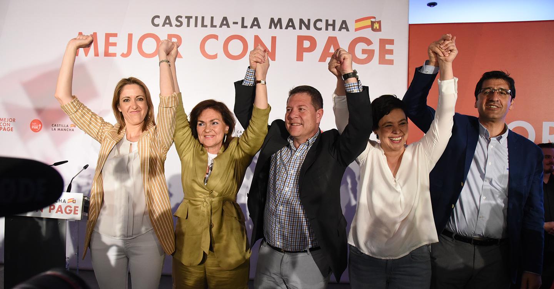 García-Page compromete una reserva especial de empleo para paradas de larga duración