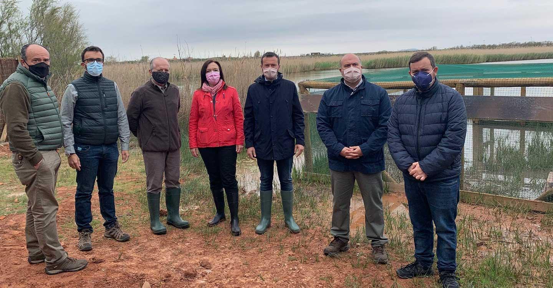 El Gobierno de Castilla-La Mancha continúa con los trabajos de recuperación de la cerceta pardilla en la región con la suelta de 20 ejemplares en el complejo Lagunar de Alcázar de San Juan