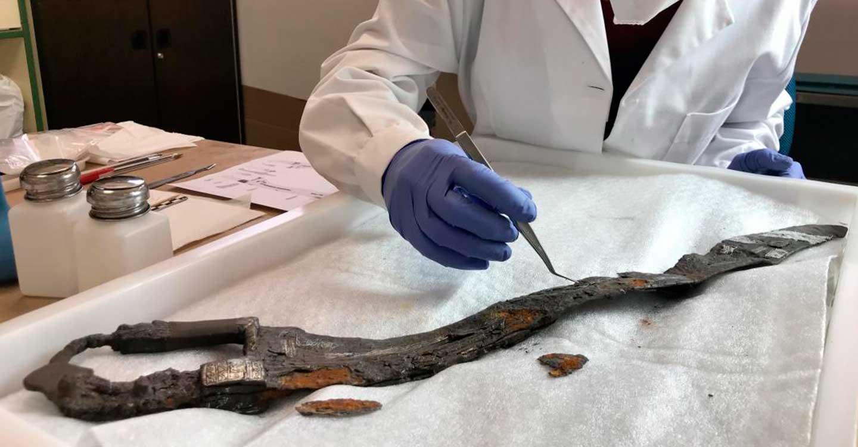 El Gobierno de Castilla-La Mancha restaura una de las piezas más importantes del Museo de Ciudad Real, la espada íbera procedente de Alarcos