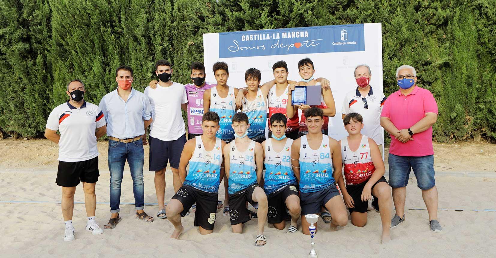 El Gobierno de Castilla-La Mancha se congratula de que Castilla-La Mancha organice por primera vez la Liga regional de Balonmano Playa