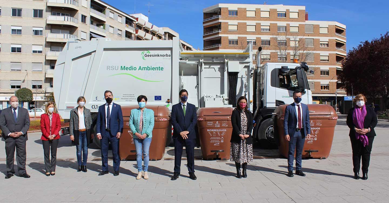 El Gobierno de Castilla-La Mancha destina 2,8 millones de euros en actuaciones para la mejora del tratamiento de biorresiduos en la provincia de Ciudad Real