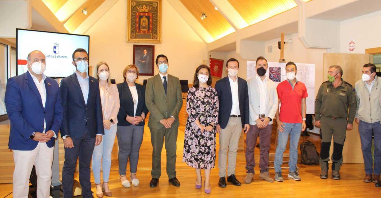 El Gobierno de Castilla-La Mancha invertirá más de un millón de euros en el nuevo Centro Operativo Provincial de lucha contra incendios forestales de Ciudad Real