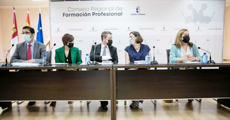 El Gobierno de Castilla-La Mancha subraya el desarrollo de nuevos ciclos formativos y la inversión de más 742 millones de euros en el impulso a la FP en el marco del III Plan de Formación Profesional