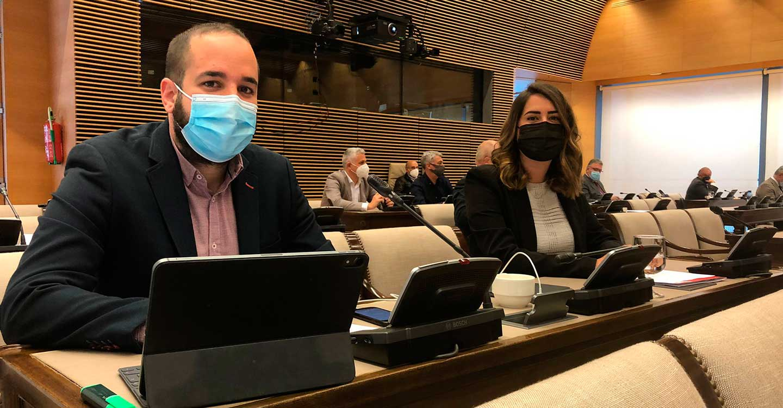 Miguel González Caballero defiende la PNL socialista en apoyo a los trabajadores de REPSOL y defensa de una transición justa para las comarcas industriales