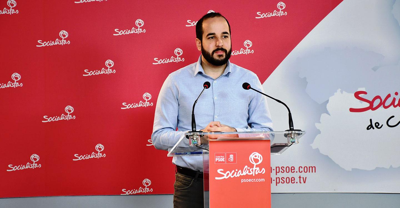 """González Caballero pide al PP que trabaje en desbloquear el gobierno de España, """"en lugar de dedicarse a crear alarmas"""""""