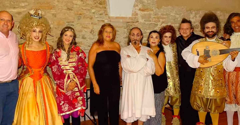 Gran ovación del público en el estreno de la compañía Morboria en el Festival de Teatro y Títeres de Torralba
