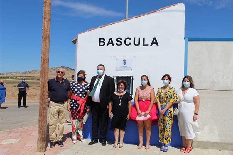Granátula de Calatrava inaugura su Báscula Municipal, una demanda histórica de agricultores y ganaderos locales