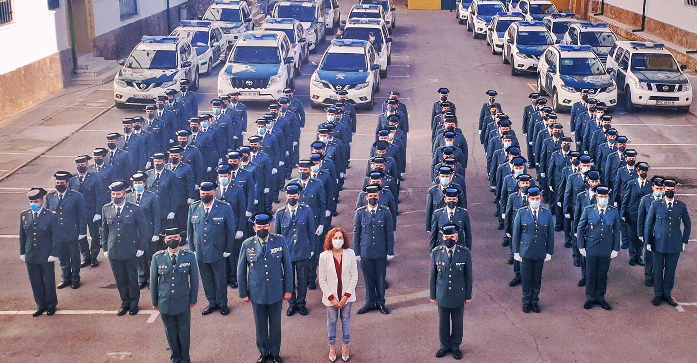 La Guardia Civil de Ciudad Real incorpora a 91 nuevos agentes en la provincia