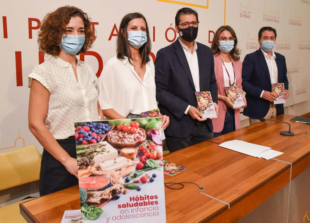 La Diputación edita una guía sobre hábitos saludables en infancia y adolescencia para prevenir la obesidad