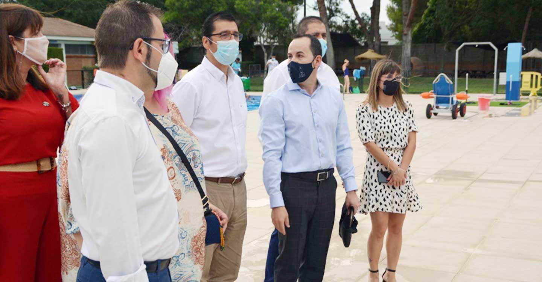 Herencia convierte su piscina en 100% accesible gracias a las obras acometidas con fondos de la Diputación provincial