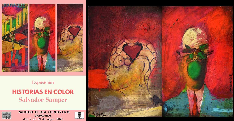 """Exposición """"Historias en color"""" de Salvador Samper"""