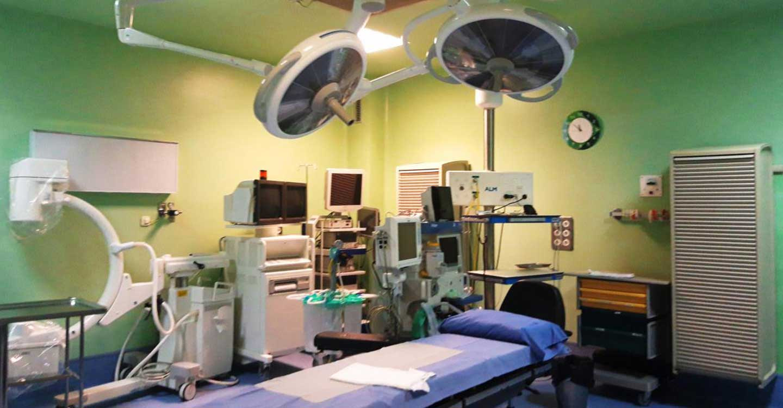 El Hospital de Manzanares recupera progresivamente la actividad quirúrgica y se aproxima ya a los niveles alcanzados el año pasado por estas fechas