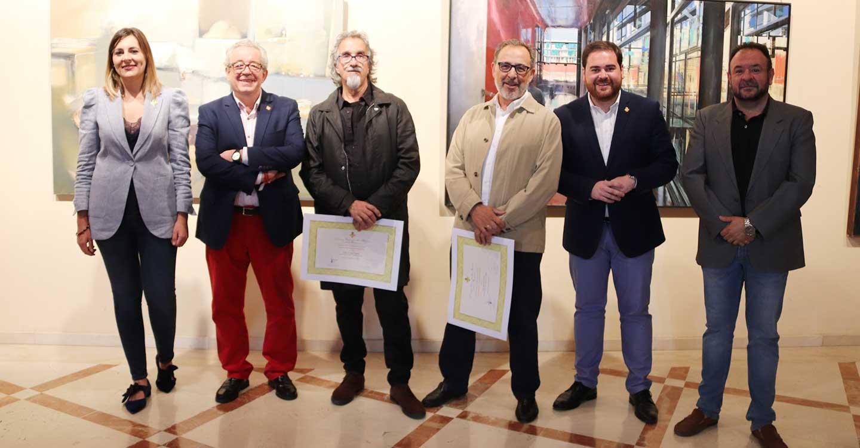 Inaugurada la exposición del 43 Certamen Nacional de Artes Plásticas 'Ciudad de Manzanares'