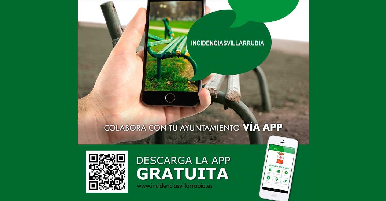 Villarrubia de los Ojos lanza una app para comunicar incidencias