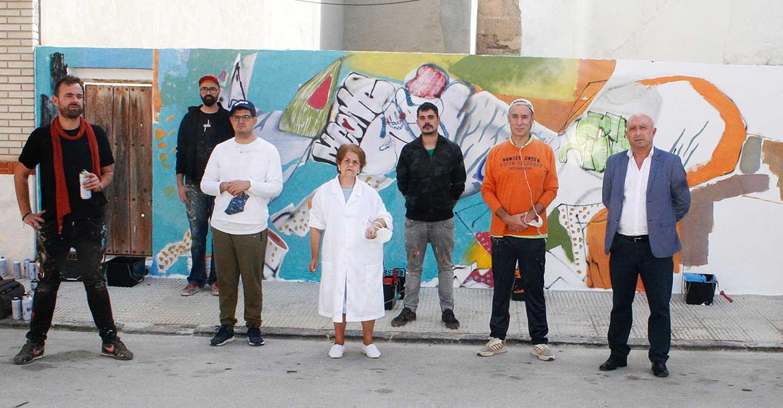 Indiscutible éxito del primer Festival de Arte Urbano Inclusivo organizado por el ayuntamiento de Aldea del Rey, a través de la Concejalía de Cultura y en colaboración con Laborvalia