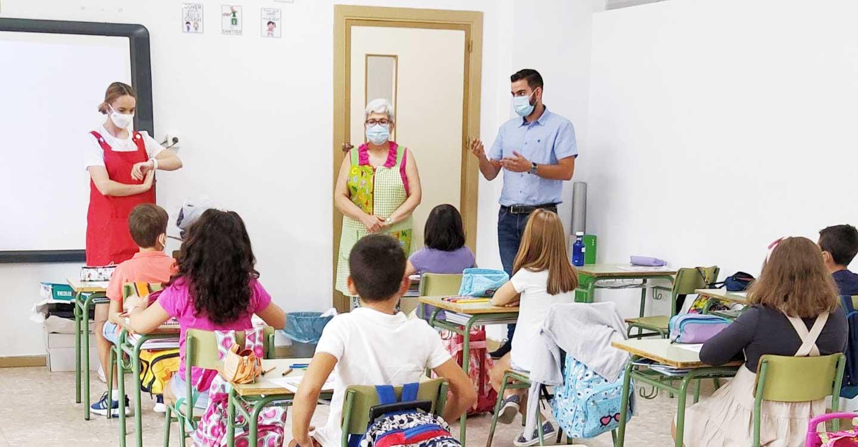 El curso escolar 2020/2021 en Porzuna ha comenzado sin incidencias