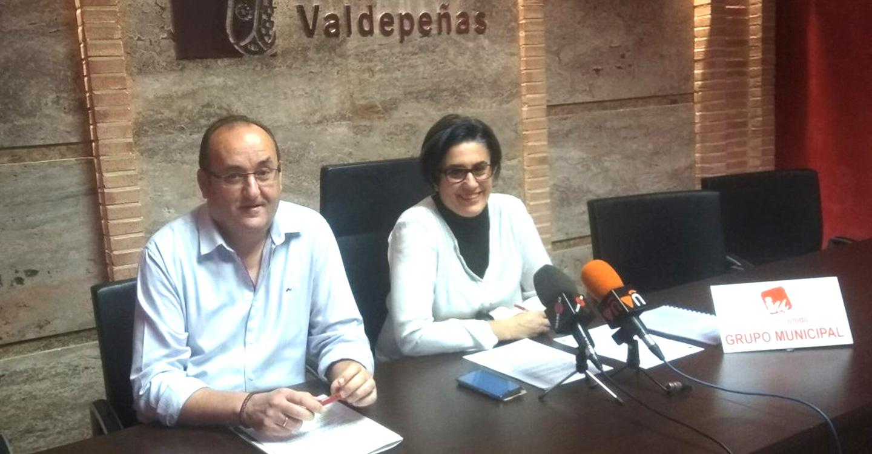 IU Valdepeñas exige que se inicie ya el proceso para cubrir las plazas del Plan de Empleo