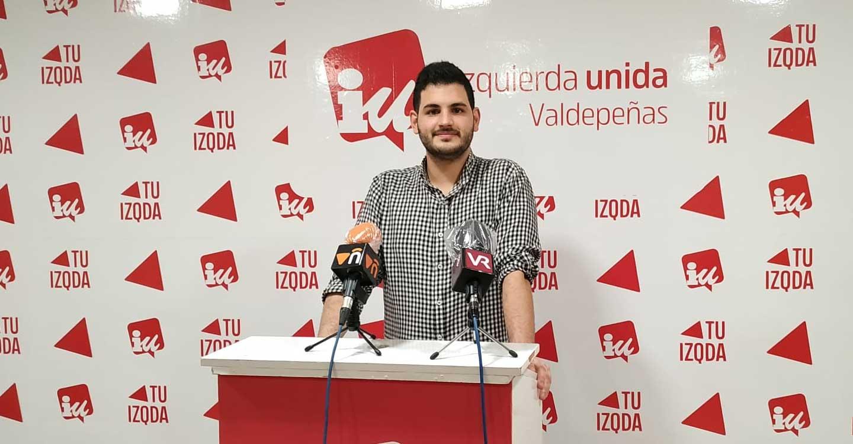 IU Valdepeñas satisfecha con la eliminación de las tasas de terrazas y recogida de basura para 2021.