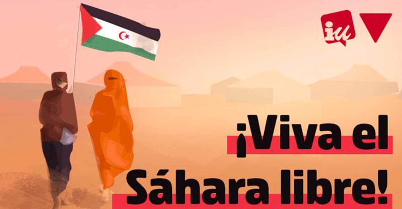 Izquierda Unida de Valdepeñas condena la violación al alto el fuego que Marruecos está llevando a cabo contra el Pueblo Saharaui.