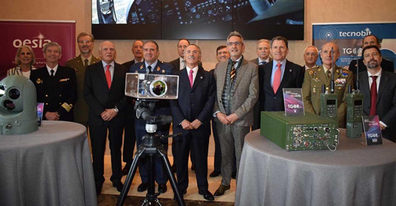 Jesús Martín asiste a la presentación de la nueva generación de alta tecnología de Tecnobit