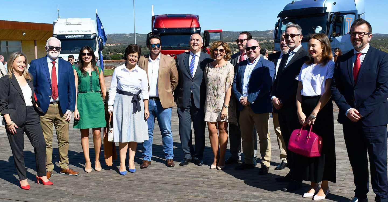 Jesús Martín conoce  los problemas del sector de Transportes de Mercancías de Ciudad Real y se compromete a llevarlos al Senado