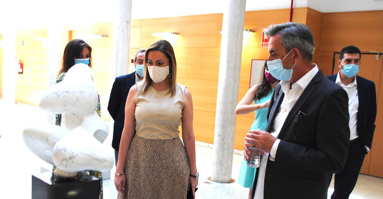 Jesús Martín inaugura la edición especial de la 81 Exposición Internacional de Artes Plásticas