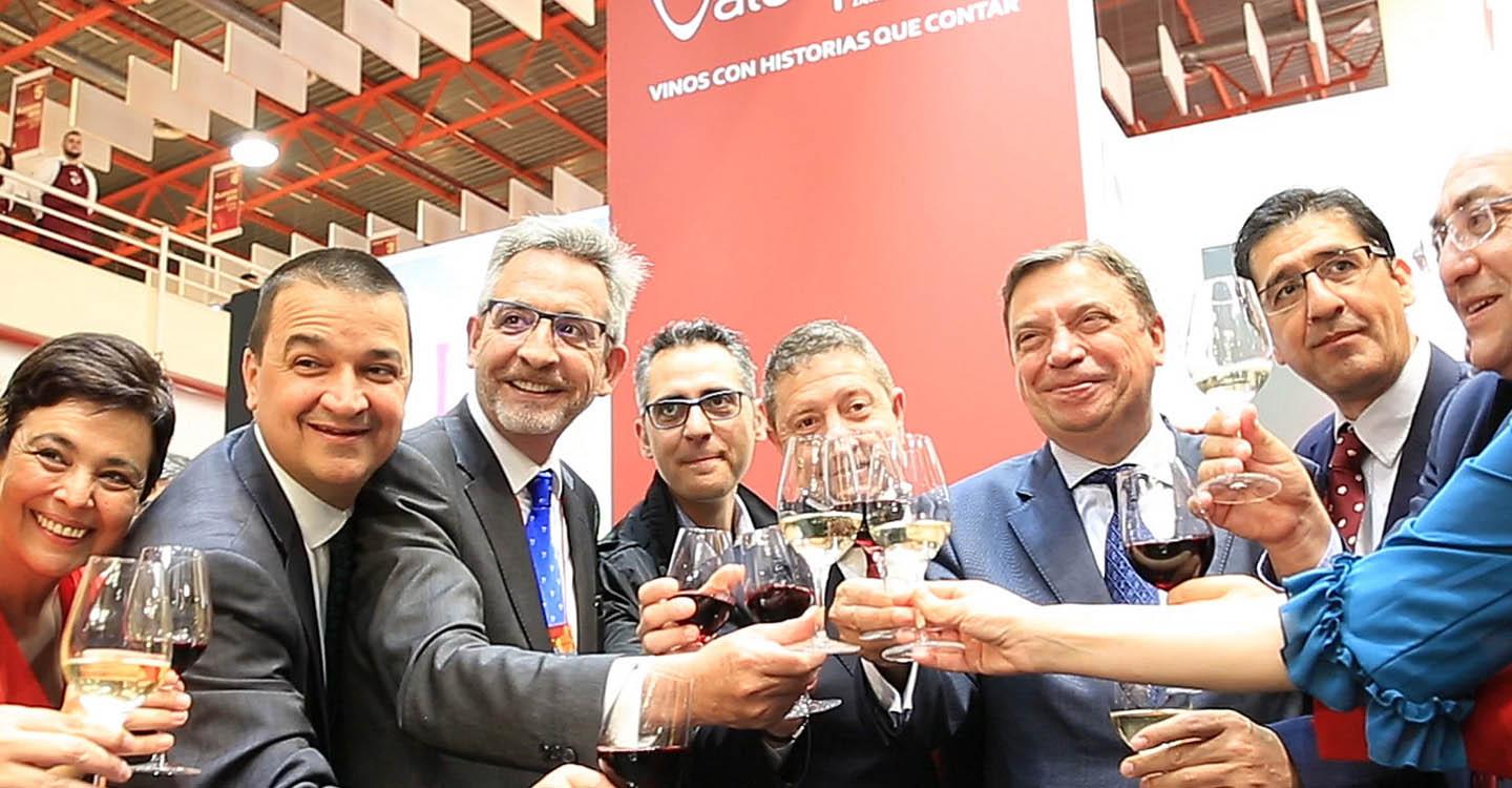 """Jesús Martín: """"Los vinos de Valdepeñas quizá sean los que más seña de identidad tengan"""""""