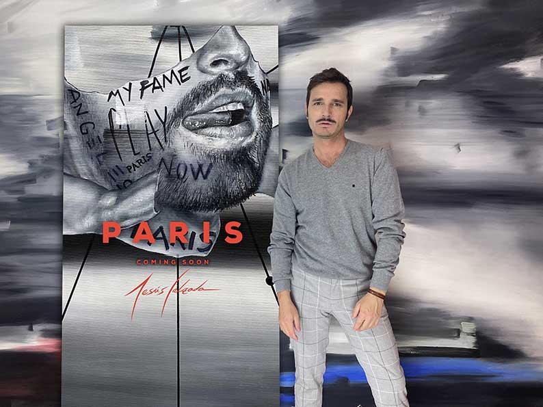 El artista manchego Jesús Calzada expone en París.