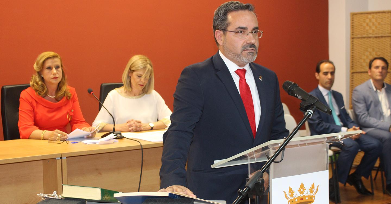 José Juan Fernández toma posesión como Alcalde, con un discurso repleto de proyectos para la próxima legislatura