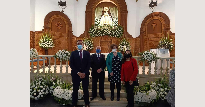 José Manuel Bolaños agradece el esfuerzo realizado por la Hermandad de la Virgen del Monte de Bolaños de Calatrava