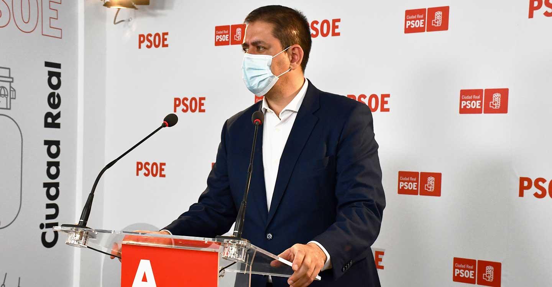 """José Manuel Bolaños: """"El PP no logrará tapar con su fatalismo, el esfuerzo que el Ejecutivo de C-LM está realizando para apoyar a las empresas"""""""