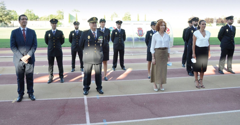 El presidente de la Diputación de Ciudad Real asiste a la jura de 24 nuevos agentes de la XXXIV promoción de Policía Nacional