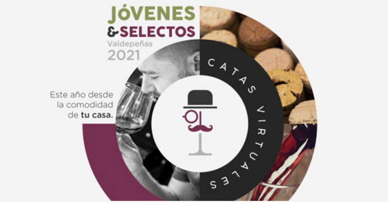 Las catas de 'Jóvenes & Selectos' de Valdepeñas congregaron on-line a 250 participantes
