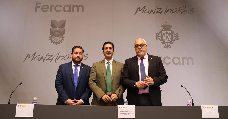 Julián Nieva y José Manuel Caballero clausuran Fercam 2019