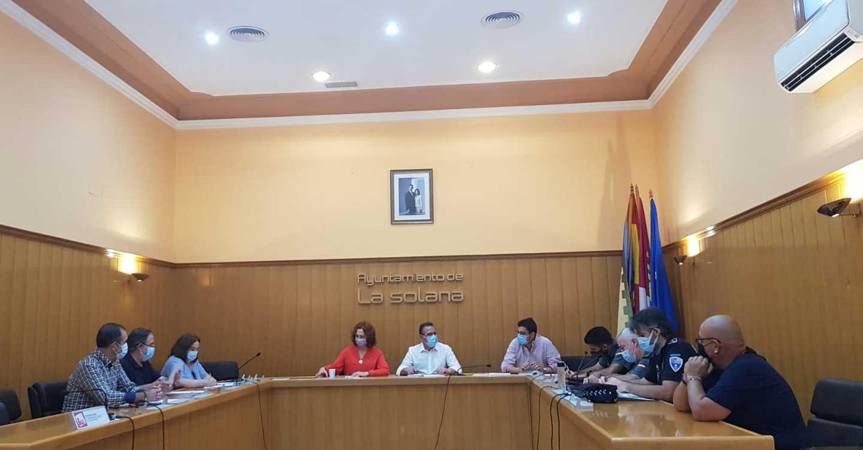Celebrada Junta Local de Seguridad en La Solana con motivo de las ferias y fiestas de Santiago y Santa Ana