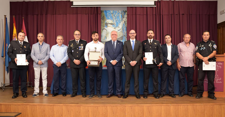 La Policía Local de Argamasilla de Alba celebra la festividad de los Ángeles Custodios