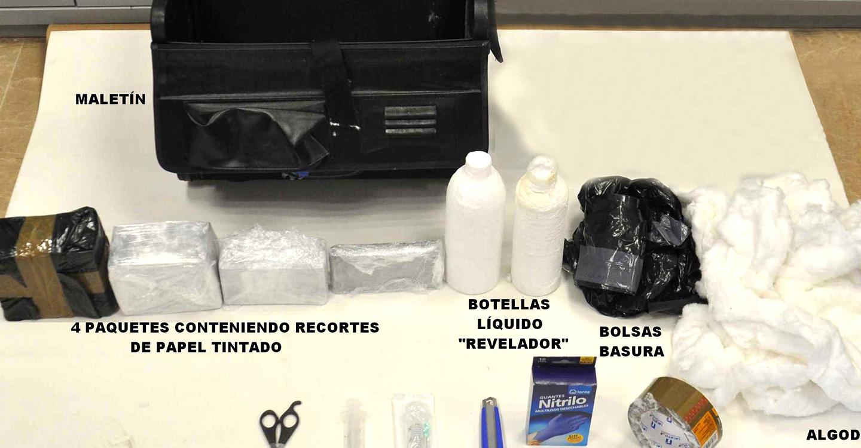 La Policía Nacional detiene en Valdepeñas a tres estafadores que se disponían a operar en la ciudad mediante el timo de los