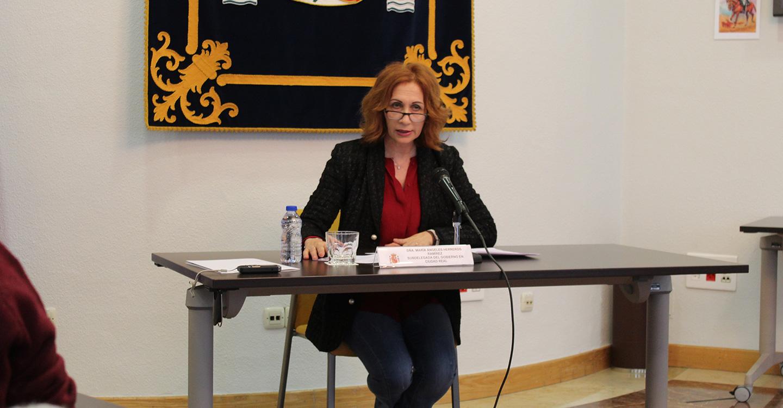 La subdelegada Herreros anuncia la adjudicación de las obras de rehabilitación estructural del tramo Puente Retama-Luciana